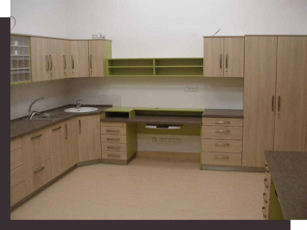 nemocniční nábytek Truhlářství ATIZ